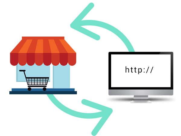 Synced with your online shops